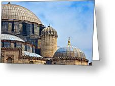 Sehzade Mosque 02 Greeting Card
