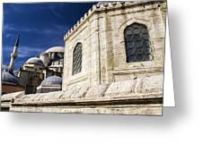 Sehzade Mosque Istanbul Greeting Card