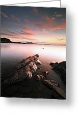 Seil Island Sunset Greeting Card