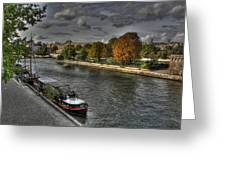 Seine Study Number One Greeting Card