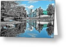 Selective Color Fall Day Greeting Card