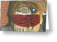 Subconcious Self Portrait Greeting Card