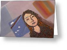 Self-portrait2 Greeting Card
