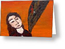 Self-portrait5 Greeting Card