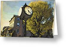 Sellersville Time Greeting Card