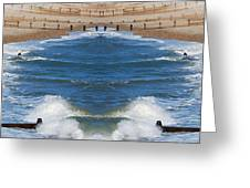 Selsey Mirrored Greeting Card