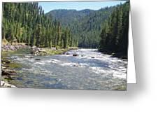 Selway River Greeting Card