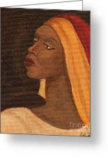 Semi-abstract- Woman Greeting Card