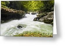 Semuch Champey Waterfalls Greeting Card