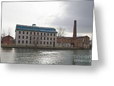 Seneca Falls Knitting Mill Greeting Card