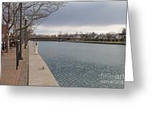 Seneca Falls Marina Greeting Card