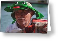 Senior Frog Greeting Card