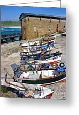 Sennen Cove Fishing Fleet Greeting Card
