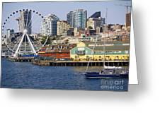 Sensational Seattle Greeting Card