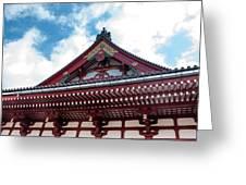 Sensoji Temple Greeting Card
