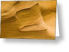 Sensual Sand Greeting Card