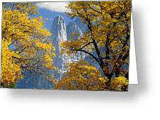 2m6703-sentinel Rock In Autumn Greeting Card