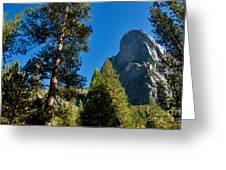 Sentinel Dome, Yosemite Np Greeting Card