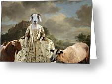 Separating The Sheep From The Goats Greeting Card