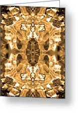 Sepia Bag Fairies 1 Greeting Card