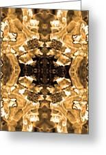 Sepia Bag Fairies 3 Greeting Card