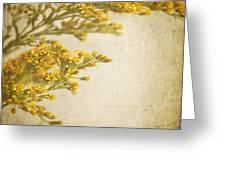 Sepia Gold Greeting Card