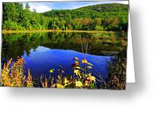 September Reflections Greeting Card