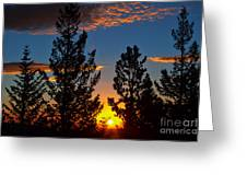 September Sunrise Greeting Card