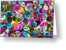 Sequins Abstract Greeting Card