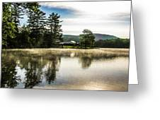 Serene Morning Greeting Card