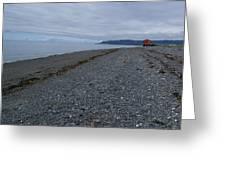 Serenity At The Beach Greeting Card