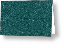 Serenity Blue Greeting Card