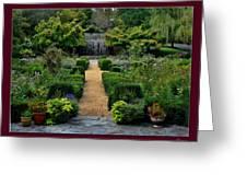 Serenity Garden. Greeting Card