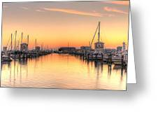 Serenity Harbor 1 Greeting Card