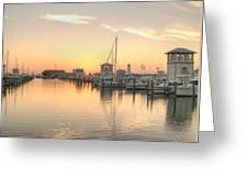 Serenity Harbor 2 Greeting Card