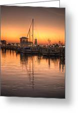 Serenity Harbor 4 Greeting Card