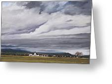 Serenity In The Skagit Valley Greeting Card