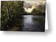 Serenity Greeting Card by Lynn Geoffroy
