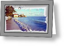 Serenity On The Lake Greeting Card