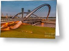 Seri Empangan Bridge Greeting Card