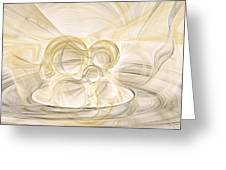 Series Abstract Art In Earth Tones 2 Greeting Card