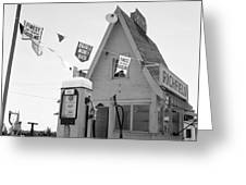 Service Station, 1939 Greeting Card