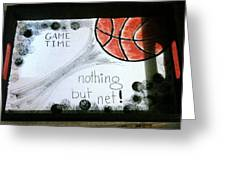 Serving Tray For Gameday Greeting Card