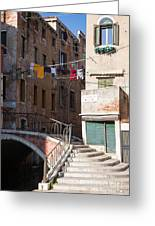 Sestier San Polo - Venice Greeting Card