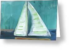 Set Free- Sailboat Painting Greeting Card