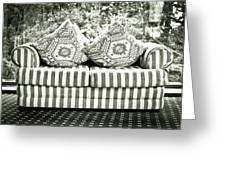 Settee Greeting Card