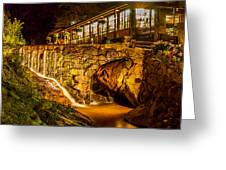 Seven Falls Visitors Center Greeting Card