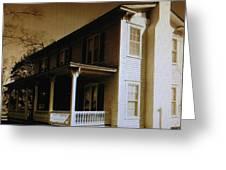 Seven Oaks Farm House Greeting Card