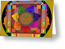 Seven Rays Of Healing 2013 Greeting Card