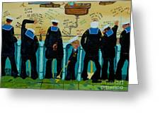 Seven Sailors Greeting Card